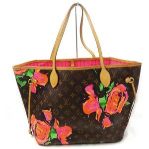 Louis Vuitton Sprouse Monogram Roses Neverfull MM